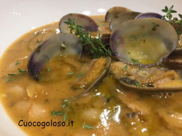 zuppa-di-vongole-e-cannellini.11 Zuppa di Cannellini, Vongole Veraci e Limone
