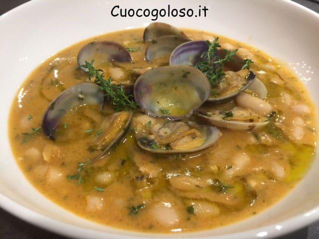 zuppa-di-vongole-e-cannellini.12 Zuppa di Cannellini, Vongole Veraci e Limone