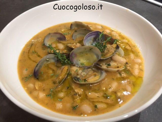 zuppa-di-vongole-e-cannellini.9 Zuppa di Cannellini, Vongole Veraci e Limone