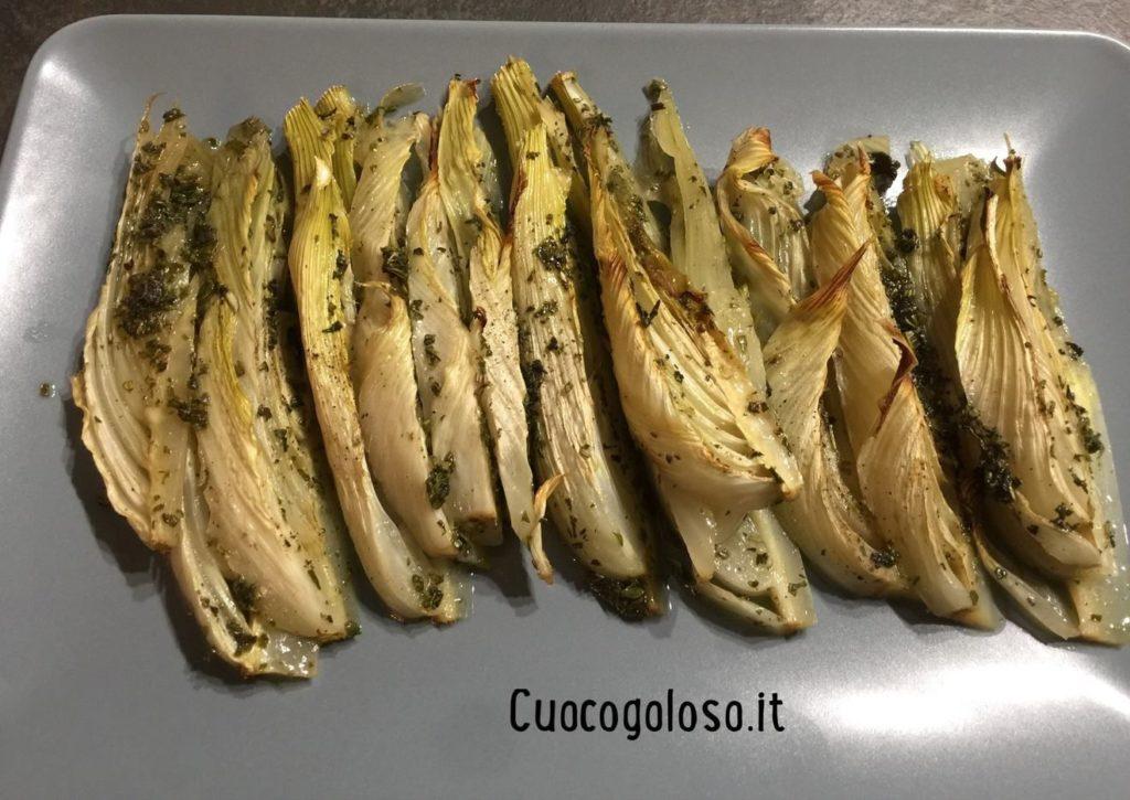 10E8FA43-D79F-4817-BE57-A2F1733A6868-1024x725 Spicchi di Finocchio con Erbe Aromatiche al Forno