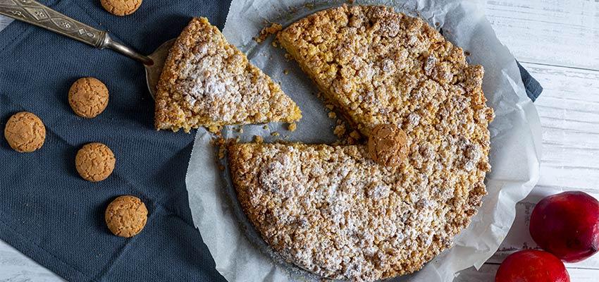 BLOG-2-2 Torta Sbriciolata con Pesche e Amaretti