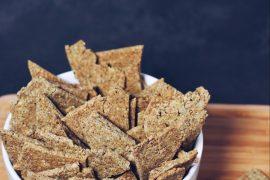 Crackers di Grano Saraceno e Mandorle senza Glutine