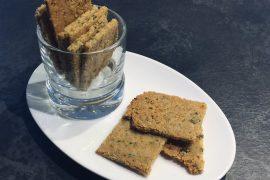 Cialde Croccanti senza Glutine con Semi e Mandorle