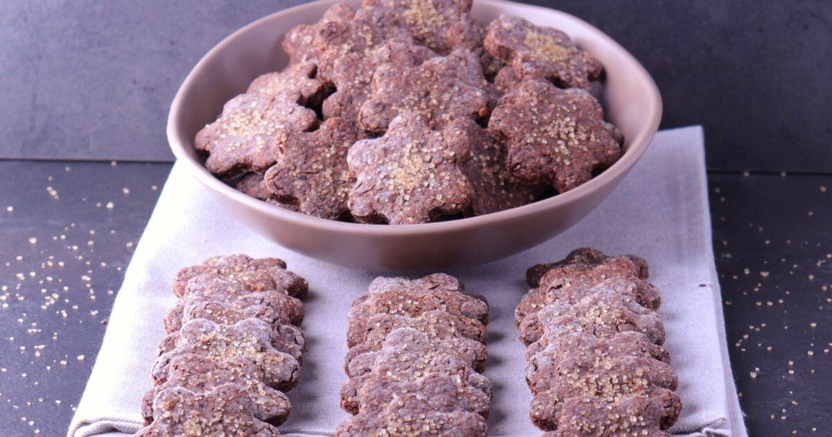 Biscotti Integrali e Grano Saraceno, senza Burro con Nocciole e Cioccolato Fondente