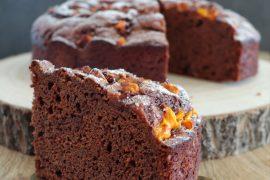 Torta Soffice con Cioccolato e Mango