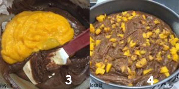 blocco2 Torta Soffice con Cioccolato e Mango