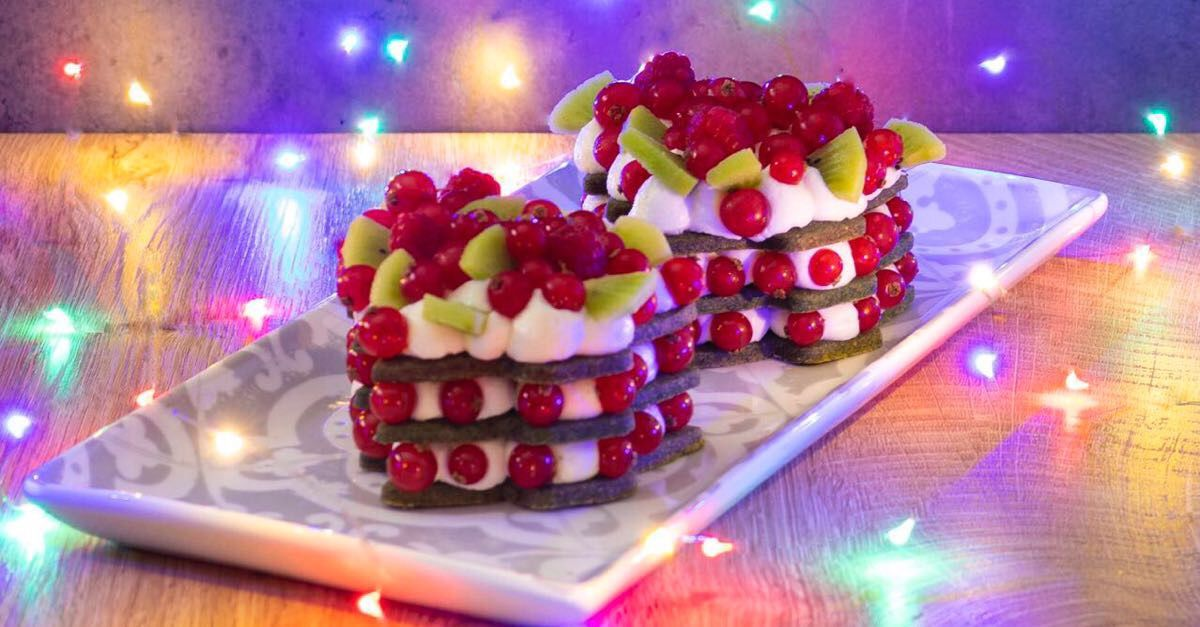Alberelli di Natale Cream Tart
