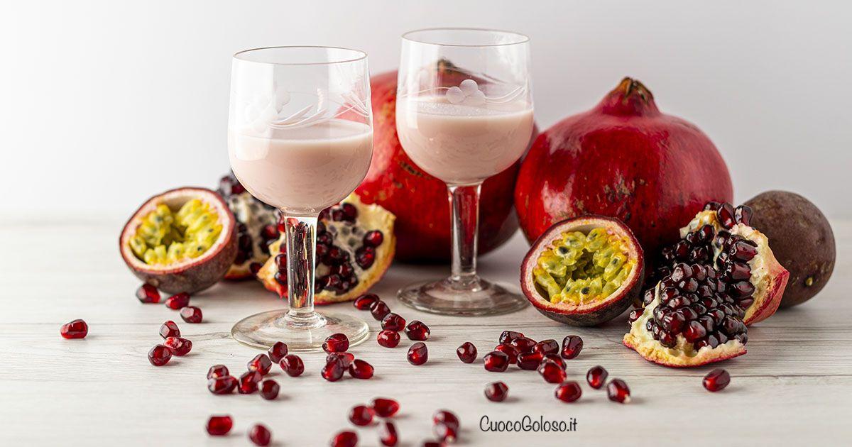 Liquore Cremoso al Melograno e Frutto della Passione