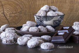 Biscotti all'Avena con Caffè e Gocce di Cioccolato