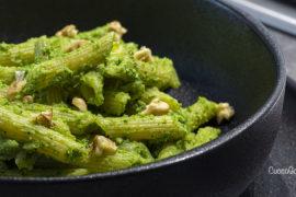 Penne Rigate con Pesto di Broccoli