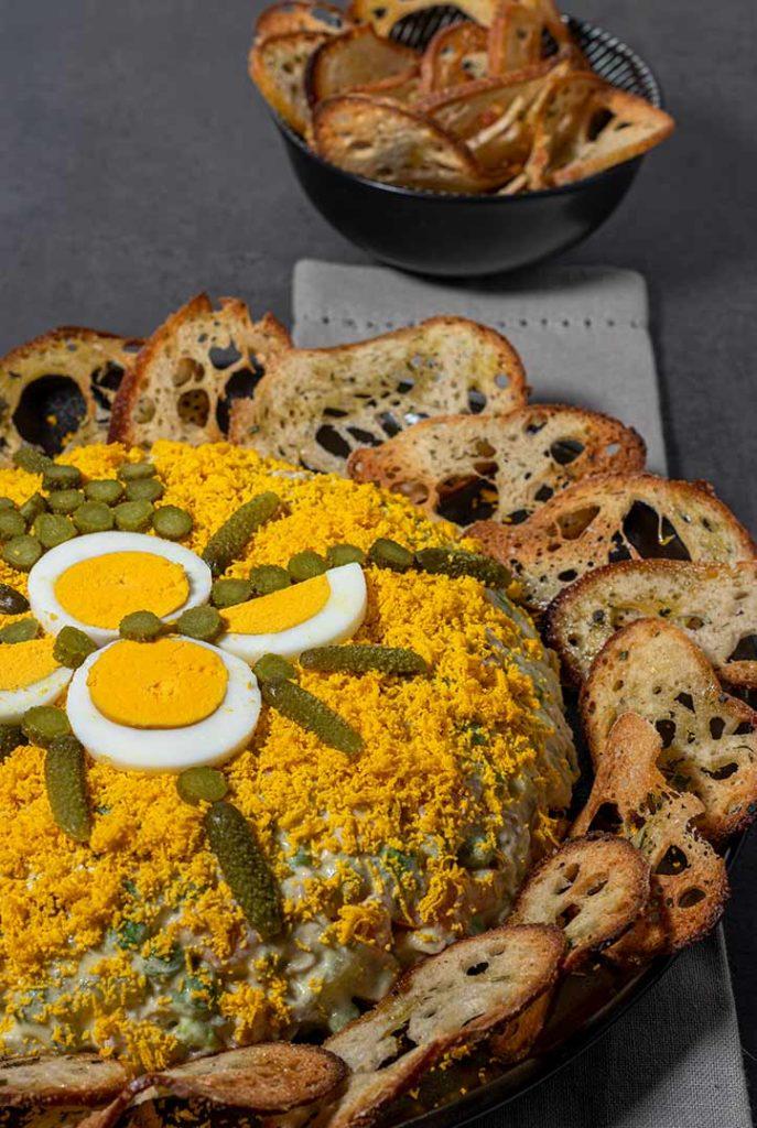 INSALATA-RUSSA-SITO3-687x1024 Insalata Russa con Pollo, da piatto conteso a gustosa ricetta