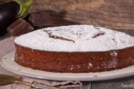 Torta di Melanzane e Cioccolato Fondente