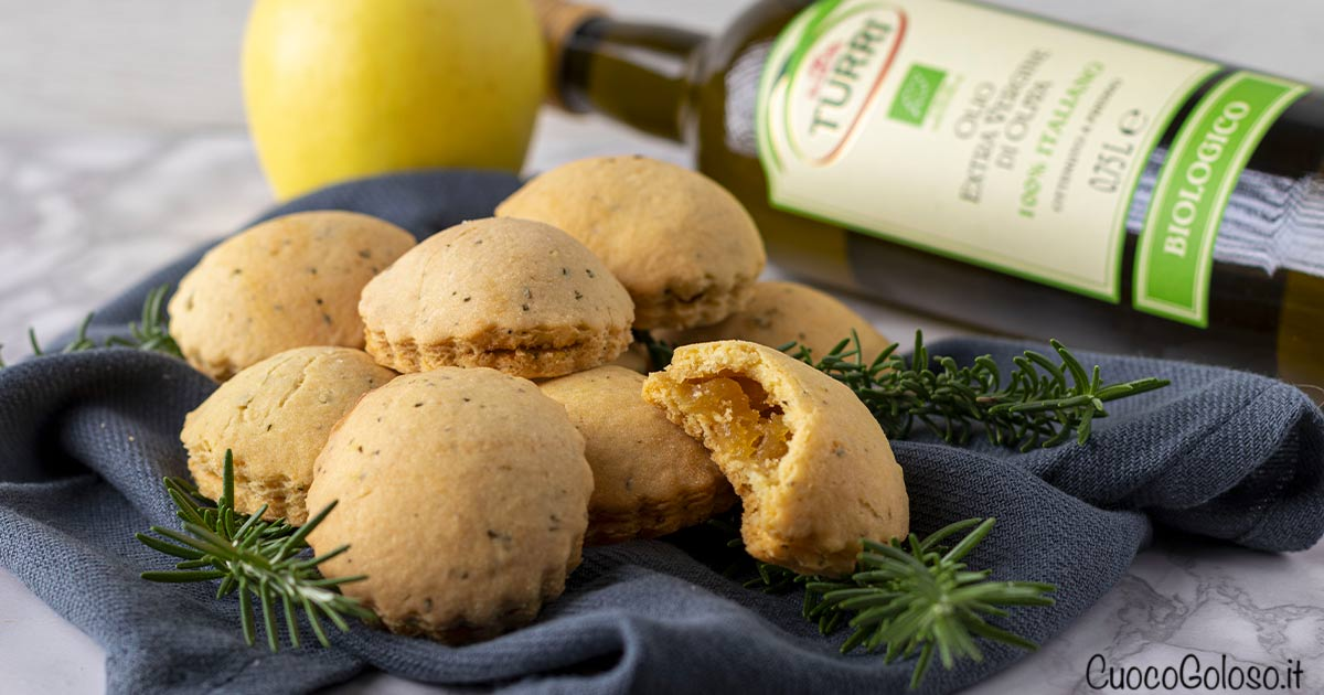 Biscotti Cuor di Mela all'Olio Extravergine