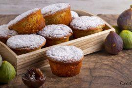 Muffin Integrali con Ricotta e Fichi Caramellati