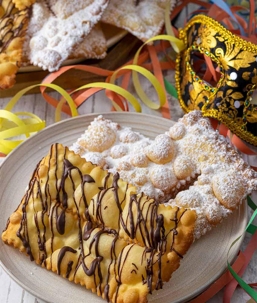 CHIACCHIERE-BL2 Chiacchiere di Carnevale