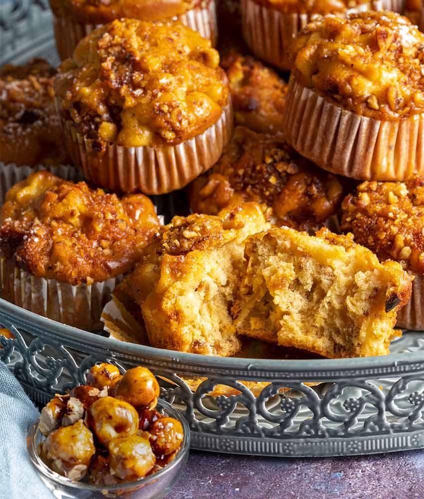 muffin-con-mele-e-croccante-alle-nocciole-bl2 Muffin con Mele e Croccante alle Nocciole