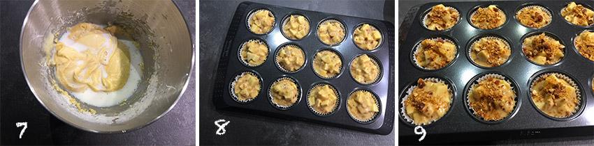 muffin-con-mele-e-croccante-alle-nocciole-pf3 Muffin con Mele e Croccante alle Nocciole