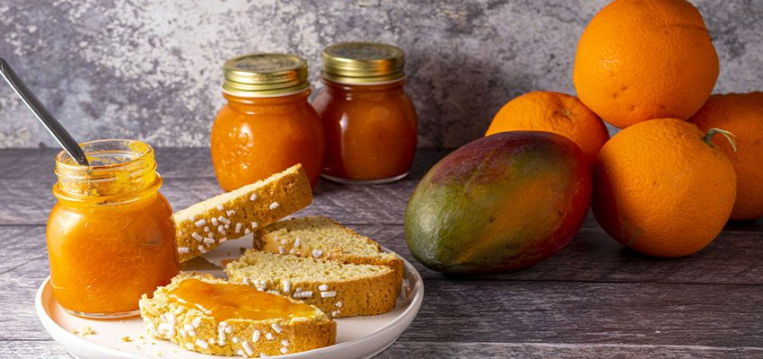 Marmellata di Arance e Mango